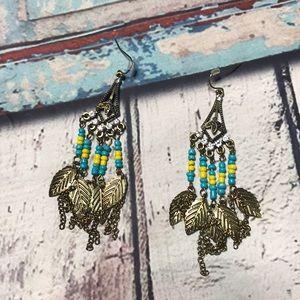 🛍NWOT Anthropologie boho earrings